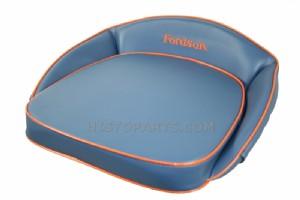 Fordson Dexta /& Super Dexta Tractor Seat Cushion Set Blue//White Embroided
