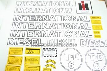 International TD6, Decalset - Histoparts